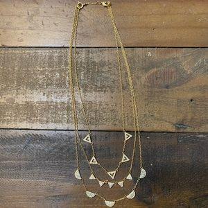 Stella & Dot Versatile Gold Necklace!